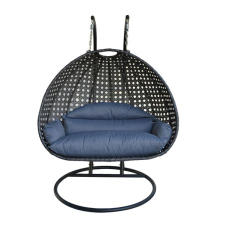 shop for outdoor furniture porch swing chair double hammock 2 person hanging chair stand at. Black Bedroom Furniture Sets. Home Design Ideas