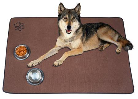 Shop For Sinland Microfiber Extra Large Pet Food Mat Dog Feeding Mat