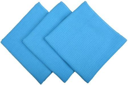 Sinland Microfiber Waffle Weave Dish Cloths Kitchen Towel Facial Cloths