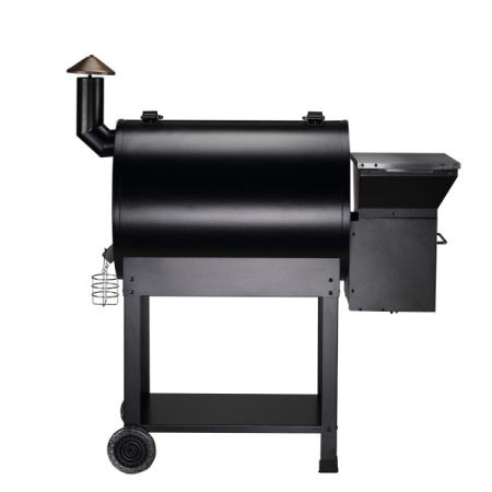 Z Grills 2018 New Model ZPG-7002E Wood Pellet Smoker, 8 in 1 BBQ Auto Temperature Controls, 694 sq inch Cooking Area,Free Patio Cover