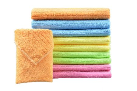 Sinland Whole Household Tools Multi Purpose Cleaning Cloths Microfiber Kitchen Cloth With Stripe Size