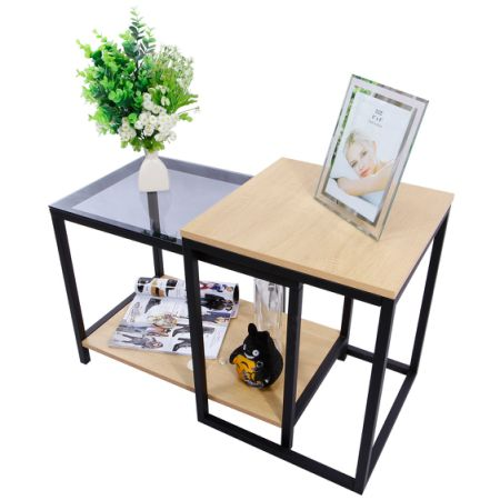 Shop for lifewit 2 piece end table nesting sofa side table set lifewit 2 piece end table nesting sofa side table set coffee accent table watchthetrailerfo