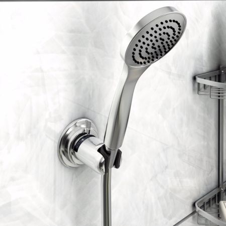 Lifewit Handheld Shower Head Holder Vacuum Suction Cup Reusable Bathroom  Bracket 1 Product Rating