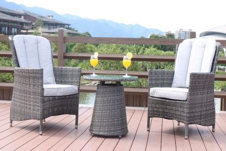 Direct Wicker Outdoor 3 Piece Chair Set Wicker Rattan Bistro Set Wicker  Furniture - Two Chairs - Shop For Direct Wicker Outdoor 3 Piece Chair Set Wicker Rattan