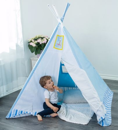 Labebe Kids Teepee/ Playhouse/ Play Tent Extra Large 4u0027 with Solid Wood and  sc 1 st  Crov.com & Shop for Labebe Kids Teepee/ Playhouse/ Play Tent Extra Large 4 ...