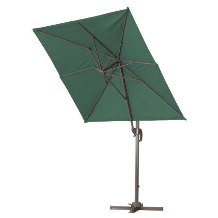 Green Garden Deluxe 6.5 X 10 Feet Cantilever Offset Patio Umbrella For  Commercial Use, Square