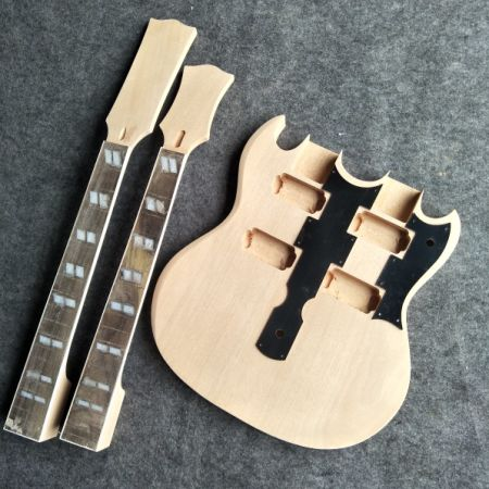 Shop for Double-Headed Electric Guitar Semi-Finished Product 6+12 ...