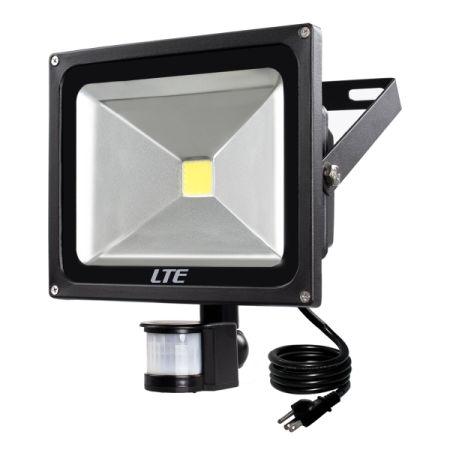 shop for motion sensor led light lte 30w waterproof pir sensor