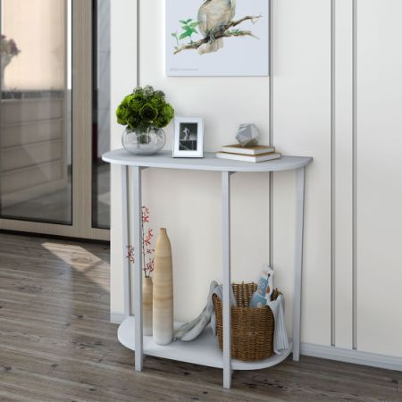 Lifewit Modern 2-tier Console Table Entry Table Durable Living Room Eye-catching Storage & Shop for Lifewit Modern 2-tier Console Table Entry Table Durable ...