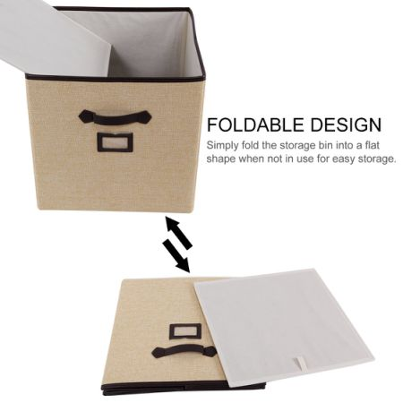 Simple 13 Inch Cheap Storage Bins - lifewit-foldable-storage-cube-with-labels-polyester-cloth-storage-bins-drawer-basket-closet-organizer-clothes-toys-cubical-organizer-containers-13-x-13-x-13-inches-3-pack  Gallery_753883.jpg