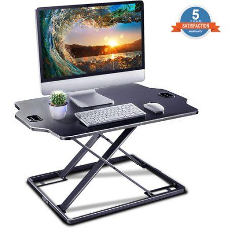 Standing Desk Converter   IMtKotW Height Adjustable Desk   Sit Stand Desk  Converter   Laptop Desk