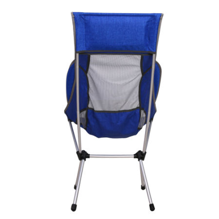 EL INDIO Portable Lightweight Folding High Back Camping Chair with Headrest for Outdoor Travel, Beach, Picnic, Backpacking