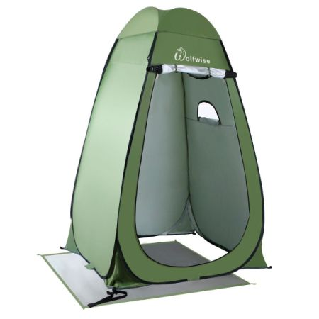 WolfWise Lightweight Instant Pop-Up Privacy Tent Outdoor C&ing Dressing Tent Private Shelter Portable Bathroom  sc 1 st  Crov.com & Shop for WolfWise Lightweight Instant Pop-Up Privacy Tent Outdoor ...