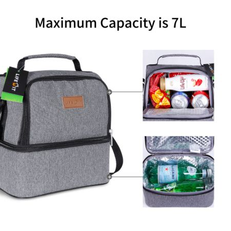 shop for lifewit insulated lunch box for adults men women kids thermal lunch bag cool. Black Bedroom Furniture Sets. Home Design Ideas