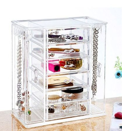 Home Storage & Organization Home & Garden Wall Hangable Cosmetic Facial Mask Bottle Storage Rack Dresser Table Living Room Bathroom Kitchen Organizer Stickable Drill Free Let Our Commodities Go To The World