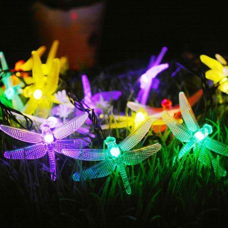 2 Packs Solar Strings Lights GIGALUMI 20 Feet 30 LED Dragonfly Solar Fairy Lights & Shop for 2 Packs Solar Strings Lights GIGALUMI 20 Feet 30 LED ...