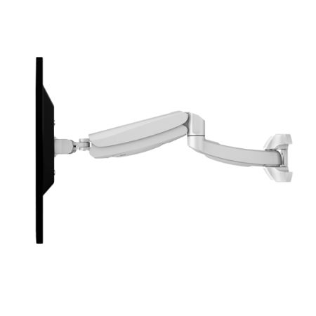 Shop for loctek dw5w height adjustable single lcd arm for Motorized swing arm tv mount