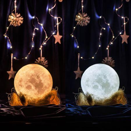 Shop For Apollo Box 3d Lunar Moon Night Light Lamp Smart