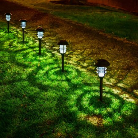 Shop for gigalumi solar pathway lights outdoor waterproof outdoor gigalumi solar pathway lights outdoor waterproof outdoor solar lights for garden landscape path mozeypictures Choice Image