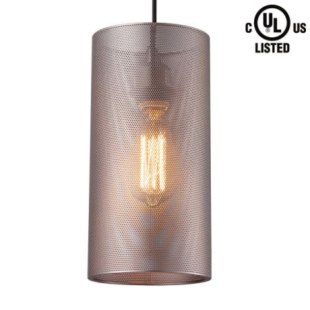 ul listed lighting emergency lights homiforce ul listed retro style 1light pendant lights with superthick metal shade shop for