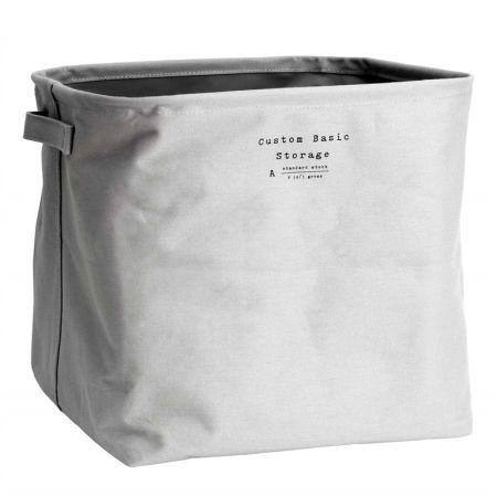 QJMAX Foldable Cotton Canvas Storage Cube