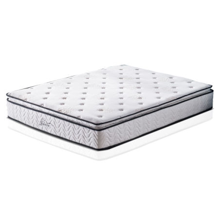 shop for pillow top mattress twin size 11 4 39 39 innerspring memory foam bed at the competitive. Black Bedroom Furniture Sets. Home Design Ideas