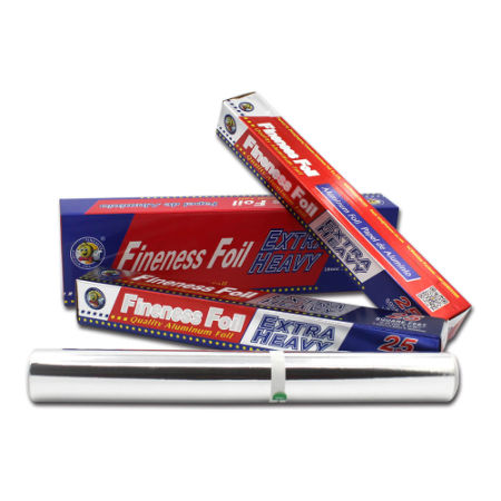 2 Pack - Fineness Wrap Aluminum Foil, 25 SQ FT