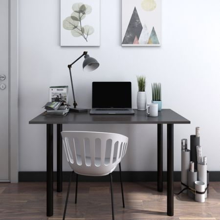 Home Office Workstation. Contemporary Home Lifewit Computer Desk Pc Laptop  Study Writing Table For Home