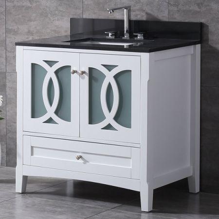 Shop For Veenor 36 Single Bathroom Vanity Set Granite