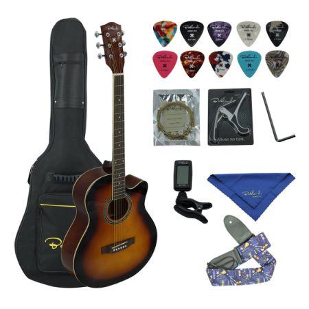 7205d26cba Bailando 40 Inch Cutaway Acoustic Guitar, Sunburst