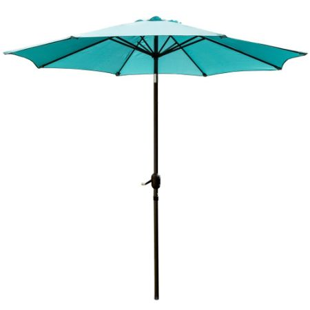 Snail 9 Patio Umbrella Uv Protection Fade Resistant Outdoor Market With Push On Tilt
