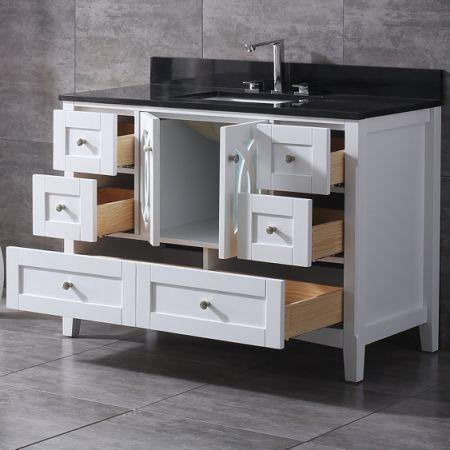 Shop For Veenor 48 Single Bathroom Vanity Set Granite