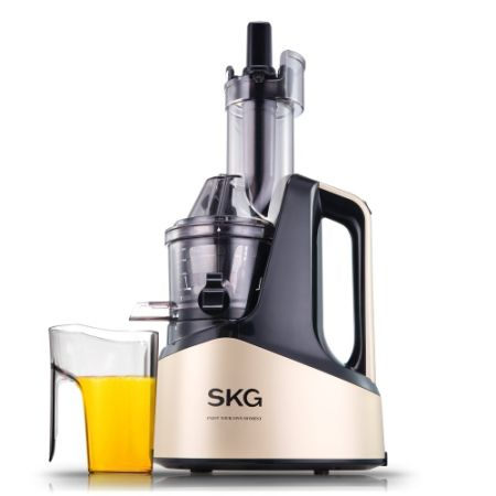 Wide Mouth Cold Press Slow Juicer : Shop for SKG Wide Chute Anti-Oxidation Slow Masticating Juicer Lower Noisy(240W AC Motor, 43 ...