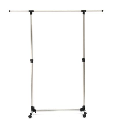 Rolling Clothes Rack Adjustable Garment Rack Portable Hanging Rack For  Clothes With Wheels