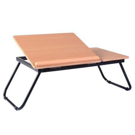 Portable Laptop Desk Notebook Computer Tray Folding Table Stand Sofa Bed