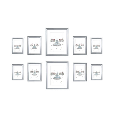 Shop for Carton of 4 Sets, EDGEWOOD Multi Pack Wall Picture Frame ...