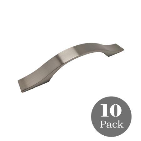 Satin Nickel Kitchen Cabinet Handles Pulls 3 4 Inch 96mm