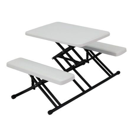 Kinbor Portable Plastic Indoor Outdoor Folding C&ing Table and Chair Set White  sc 1 st  Crov.com & Shop for Kinbor Portable Plastic Indoor Outdoor Folding Camping ...