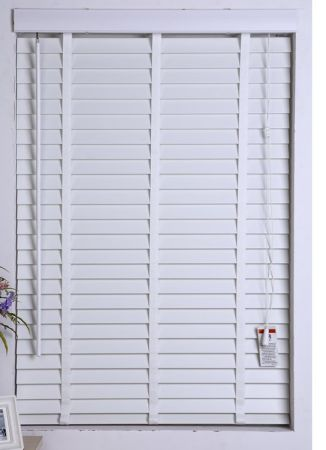 shop for customized 2inch faux wood blinds with low profile tape