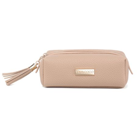Small Makeup Bag Ym Coco Cosmetic For Purse Pencil Case Pouch Leather Handy Organizer With