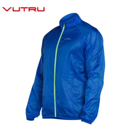 Vutru Men Running Jacket Windproof Breathable Quick Drying Running Jersey Outdoor Sports Coat V7M6007