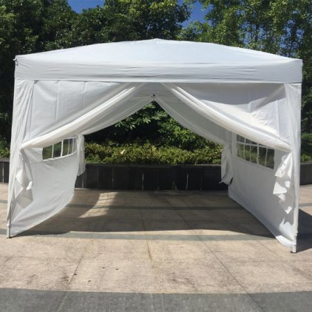 Kinbor 10ft x10ft Shelter Canopy Outdoor Wedding Party Tent With 4 Wall Panels White & Shop for Kinbor 10ft x10ft Shelter Canopy Outdoor Wedding Party ...