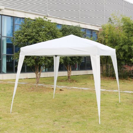 Kinbor Instant Shelter Canopy Outdoor Wedding Party Tent 10Ft By 10Ft White : instant shelter canopy - memphite.com