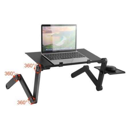 shop for adjustable laptop desk stand vertical laptopo mac folding