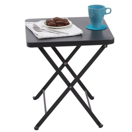 Shop For Phi Villa Folding Metal Side Table Portable Patio
