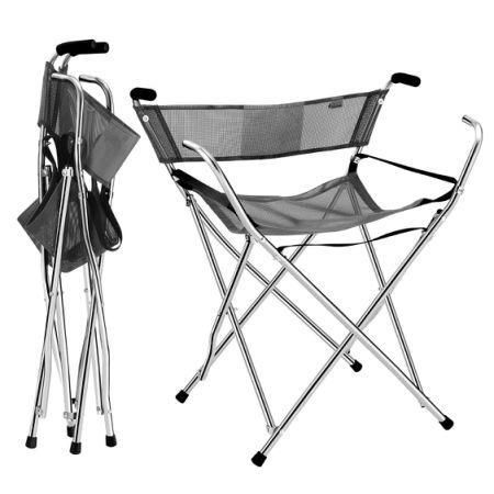 Frehsore Walking Stick Folding Cane Seat For Women Men 300 Lbs With Heavy Duty