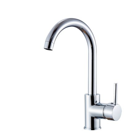Compact Kitchen Sink Shop for flg contemporary compact kitchen sink faucet 12 inch tall flg contemporary compact kitchen sink faucet 12 inch tall mixer taps bar sink faucet chrome 100058 workwithnaturefo