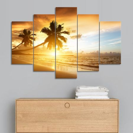 Shop for SureArt Framed Canvas Painting Modern Wall Art Home Deco ...