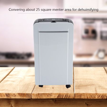 Eurgeen Energy Star Compressor Dehumidifier with Water Tank 20 pint 15-25 Square Meters for Home Kitchen Bathroom Basements Garage