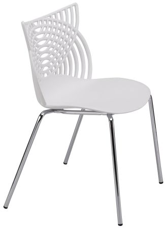 OTTITI Modern Dining Chairs Set Of 2, Stackable Birch Sapling Accent Armless  Side Chairs,